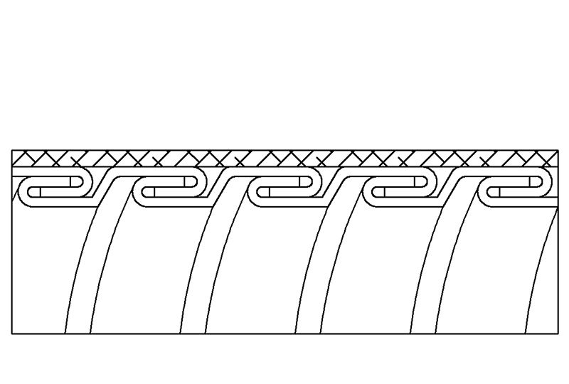 Aplicación de Protección contra Interferencias Electromagnéticas de Manguera Flexible Metálica de Protección Eléctrica –- - PES23SB Series