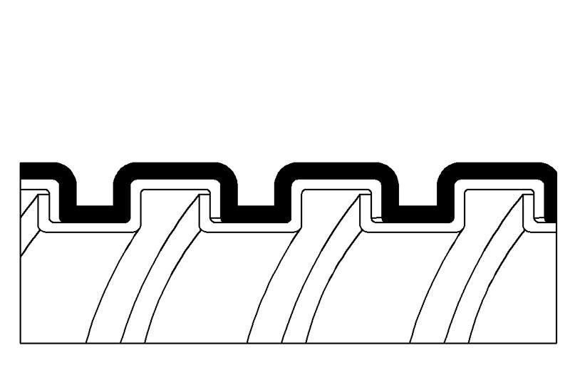 Aplicación de Impermeabilidad de Manguera Flexible Metálica de Protección Eléctrica - PAS13PVC Series