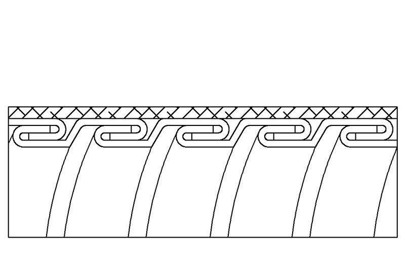 Aplicación de Protección contra Interferencias Electromagnéticas de Manguera Flexible Metálica de Protección Eléctrica - PAG23SB Series