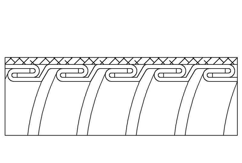 Aplicación de Protección contra Interferencias Electromagnéticas de Manguera Flexible Metálica de Protección Eléctrica - PAG23TB Series