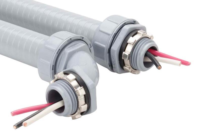 Unión de manguera flexible no metálica hermética a los líquidos - P50 Series (UL514B)