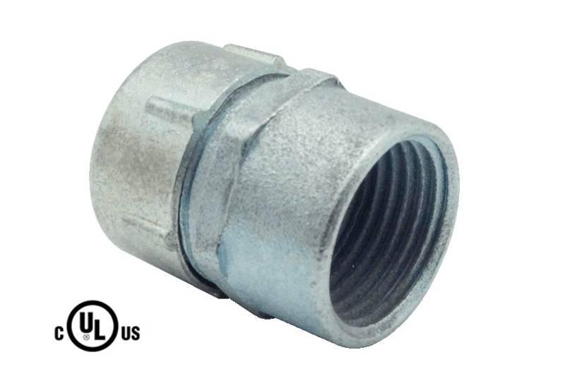 Unión de manguera flexible metálica impermeable hermética a los líquidos - S51 Series(UL 514B)