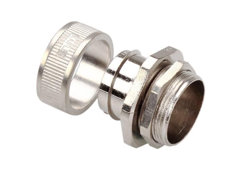 Unión de manguera flexible metálica de protección eléctrica  Aplicación de anti-interferencia electromagnética - BEZ01 Series (EU)