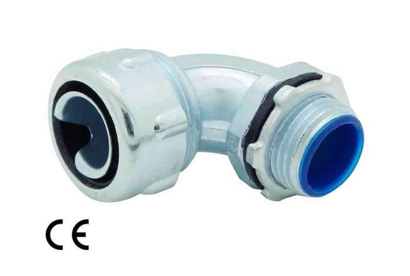 Unión de manguera flexible metálica de protección eléctrica Aplicación de impermeabilidad y anti-interferencia electromagnética- XS53 Series(EU)
