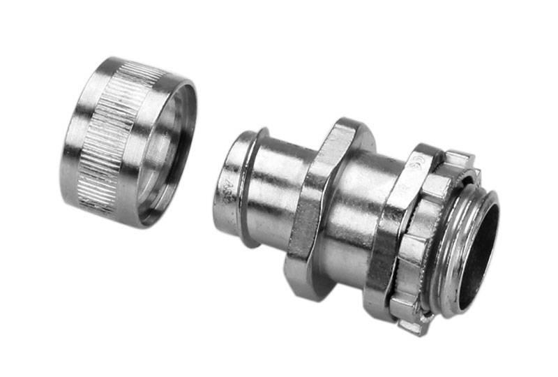 Unión de manguera flexible metálica de protección eléctrica Aplicación de impermeabilidad -BAZ05 Series