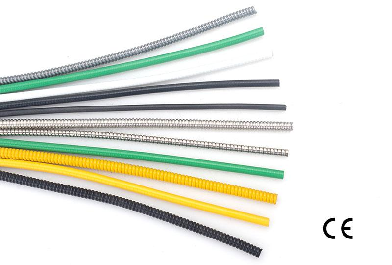 Manguera Flexible Metálica de Cables Electrónicos – Tipo de Doble Hebilla