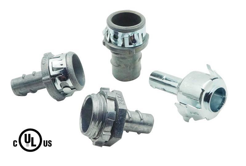Unión de manguera flexible metálica - S16/S17/S30 Series (UL 514B)