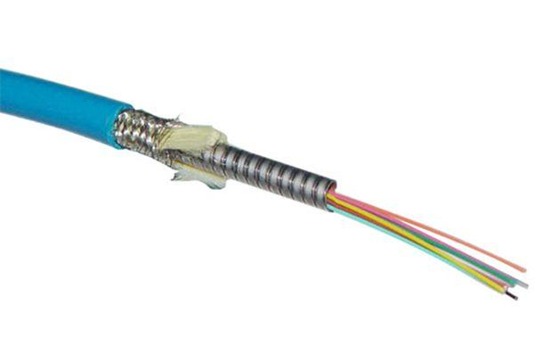 Cable óptico blindado de múltiples núcleos (4~12 núcleos)